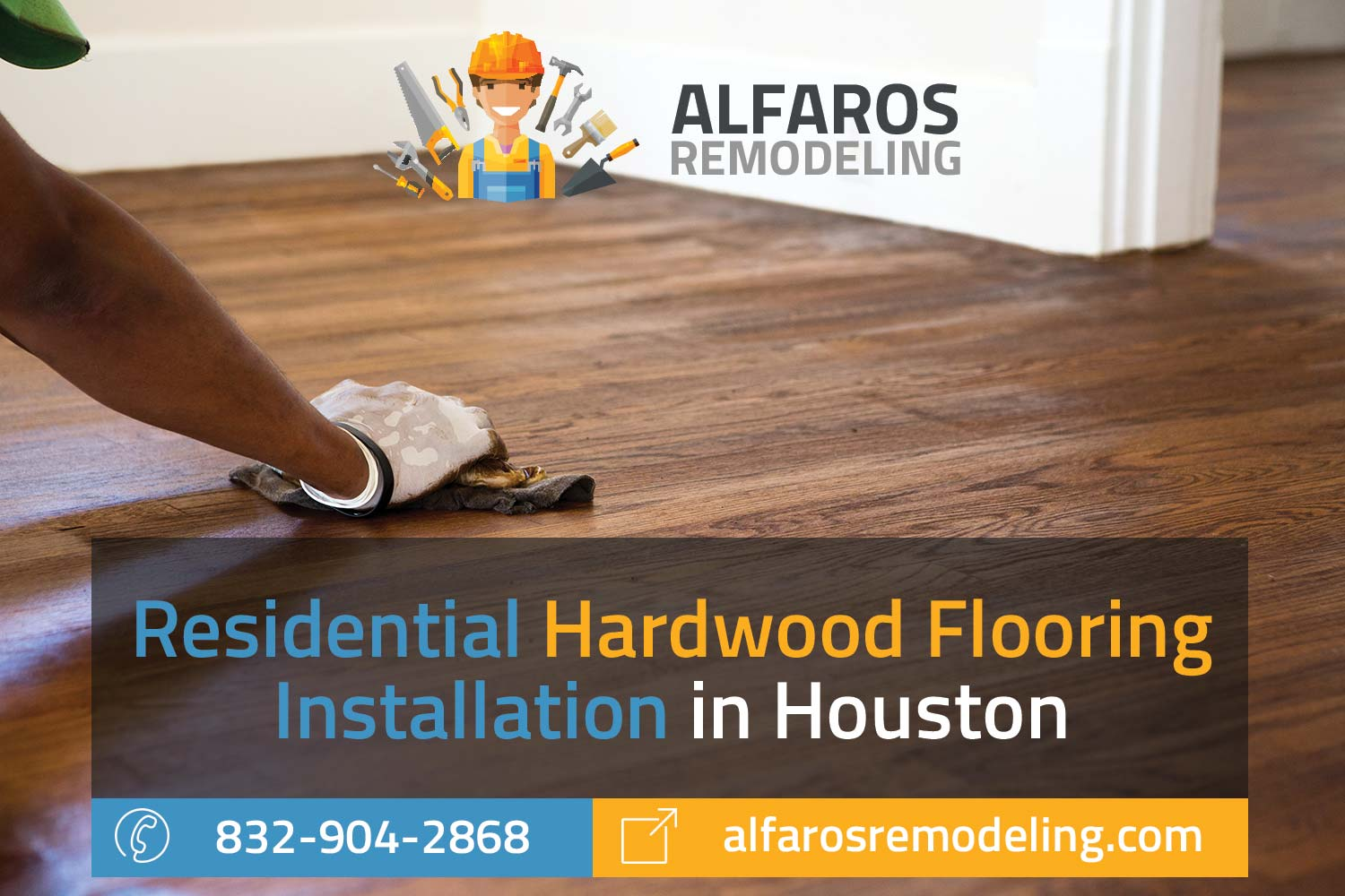 Residential hardwood flooring installation in houston for Residential wood flooring